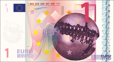 1 Euro banknote