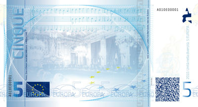 5 Europa banknote